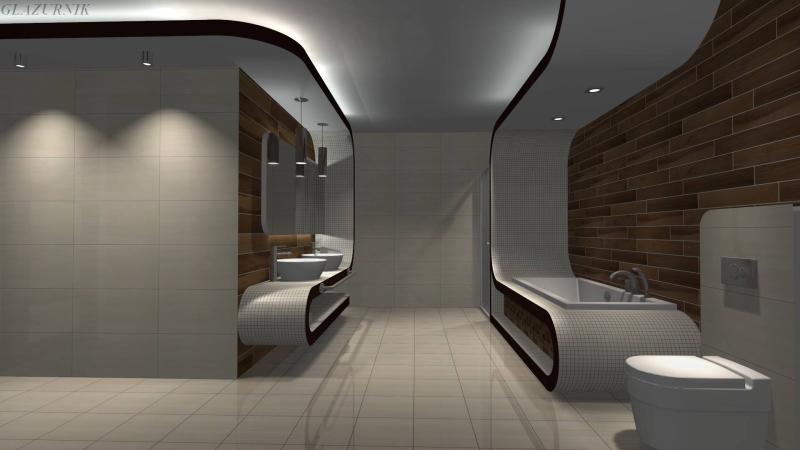 Galeria Glazurnik Stylowe łazienki Turekbiz Lokalny